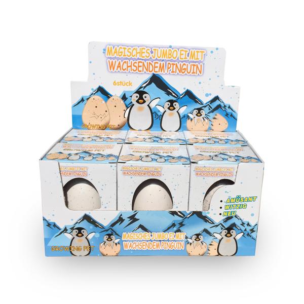 Magisches Jumbo Ei Pinguin