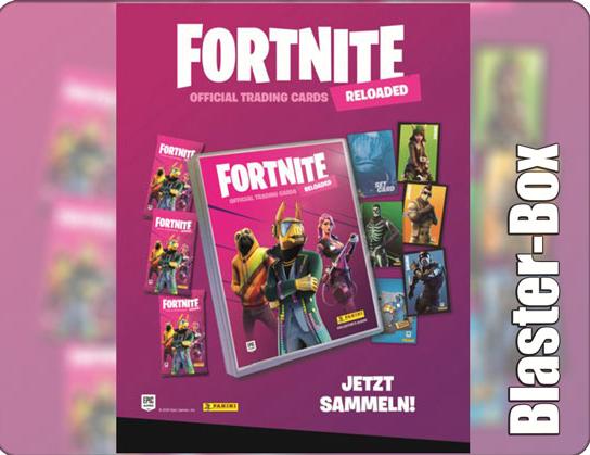 Fortnite Trading Cards Serie 2 Blaster Box