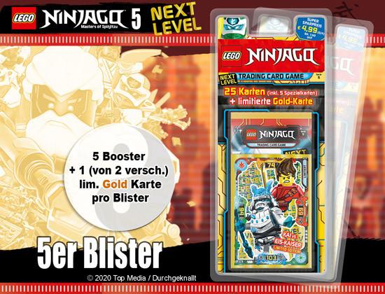 Lego Ninjago Serie 5 - Blister