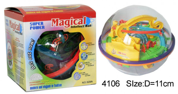 3 D Magic Intellect Ball 100