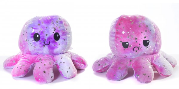 """Reversibler Oktopus """"Glitter"""" XL"""