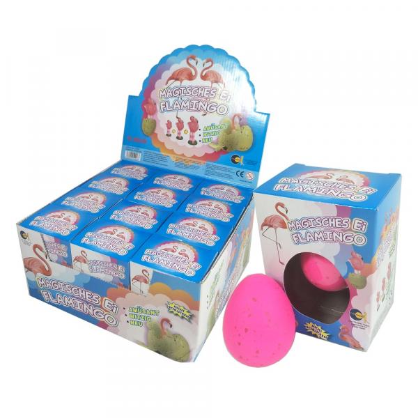 """Magische Eier """"Flamingo"""""""
