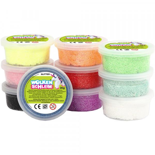 Wolkenschleim® Basic-Set Glitter