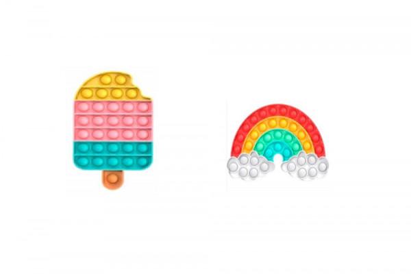 Plop up! Regenbogen/ Eis Zappelspiel