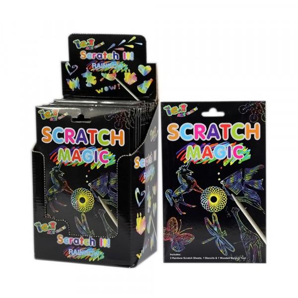 Magic Scratch Zauberpapier