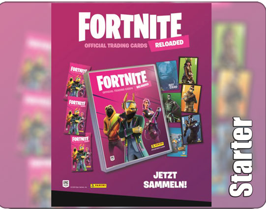 Fortnite Trading Cards Serie 2 Starter