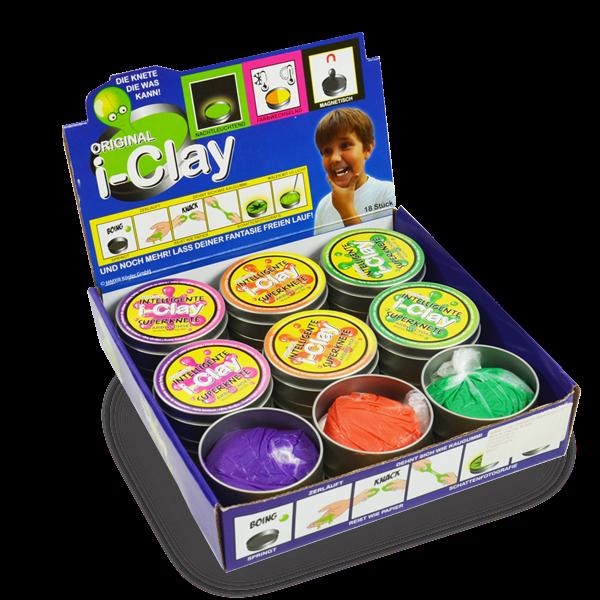 i-clay Superknete Farbwechselnd