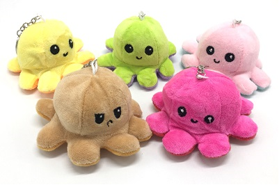 Oktopus Schlüsselanhänger