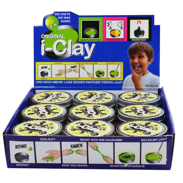 i-clay Superknete Magnetisch