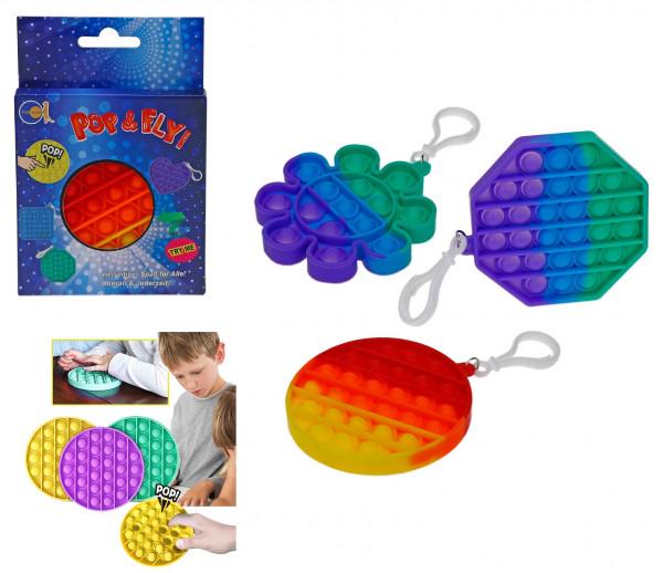 Pop&Fly Fidget Rainbow - klein