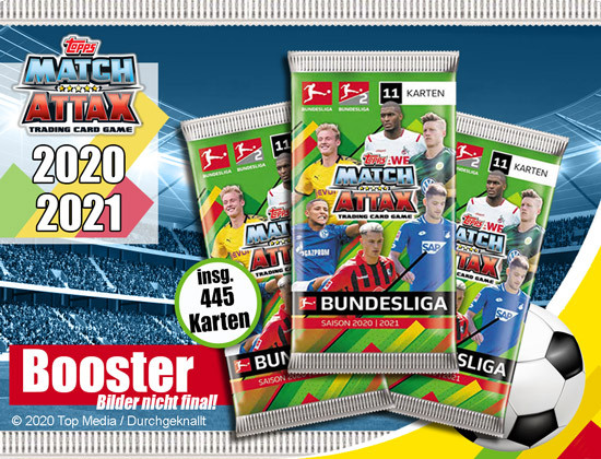 Match Attax Booster 2020/21