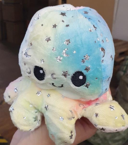 "Oktopus Plüsch ""Glitter"""