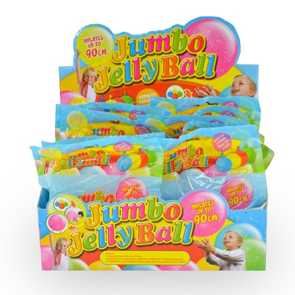 Jumbo Jelly Ball – Glitzer-Konfetti