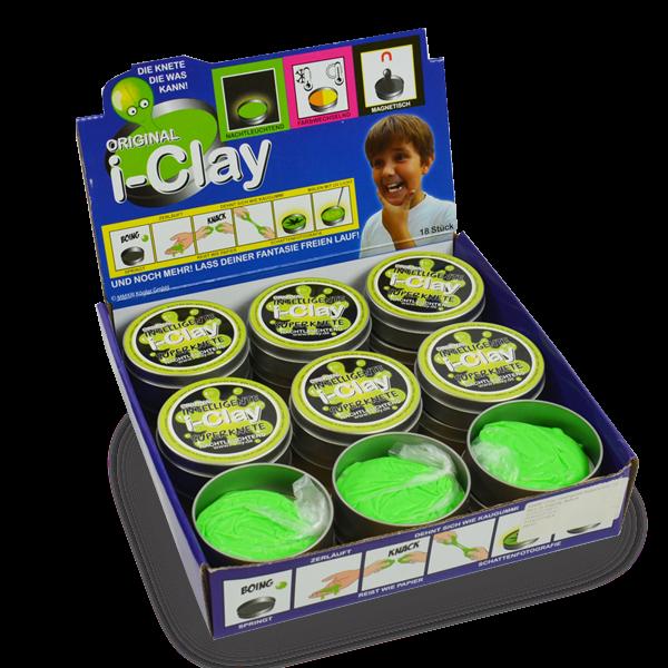 i-clay Superknete Nachtleuchtend