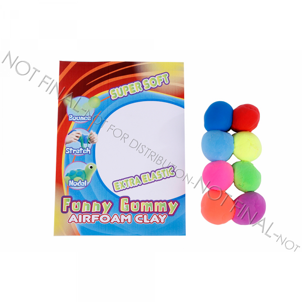 Funny Gummy, Airfoam Clay