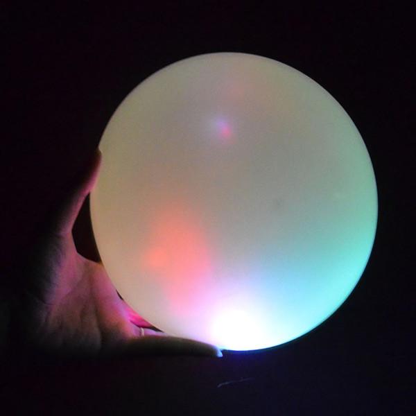 Blasenball mit LED-Licht