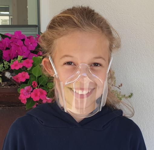 Kunststoffmaske - Smile by eGo plus - Gr. S