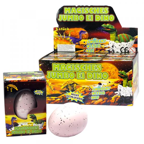 """Magisches Jumbo Ei """"Dino"""""""