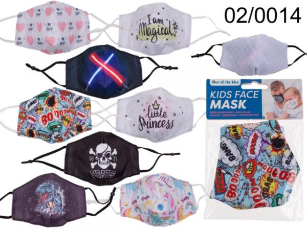 Kinder Mund-Nasen-Maske