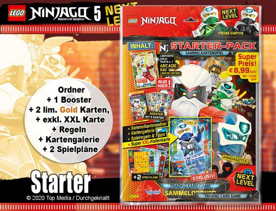 Lego Ninjago Serie 5 - Starter-Pack