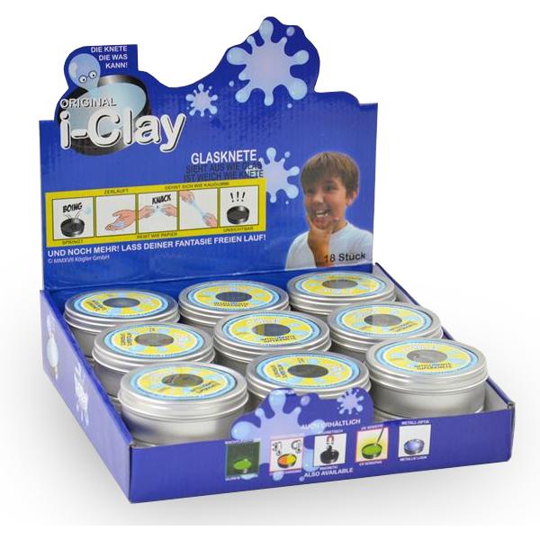 i-clay Superknete Durchsichtig (Glasknete)