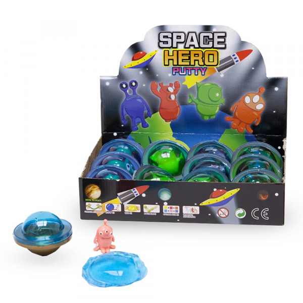 Space Hero Schleim mit Alien
