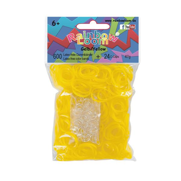 Rainbow Loom® Gummibänder Gelb