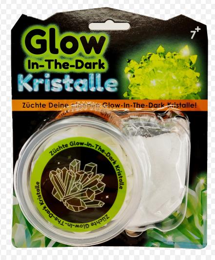 Kristalle züchten – Glow in the dark