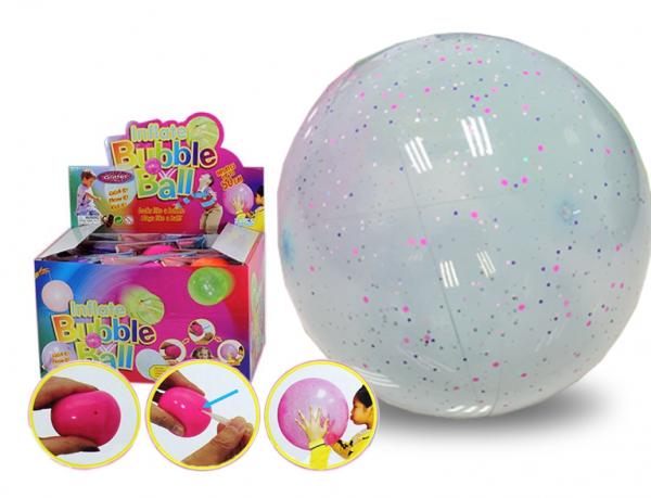 Fun Ballon mit Glitzer