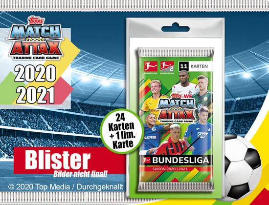 Match Attax Blister 2020/21