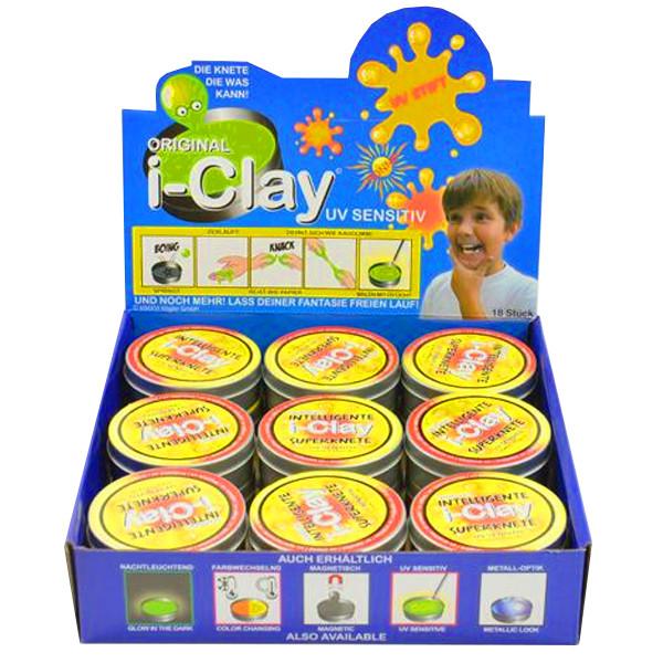 i-clay Superknete UV-Sensitiv Display
