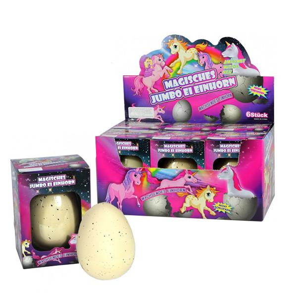 "Magisches Jumbo Eier ""Einhorn"""