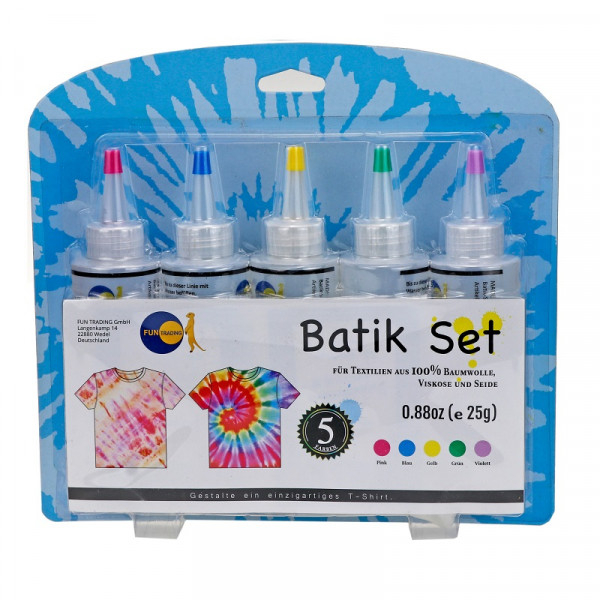 Batik Farben - 5er Set