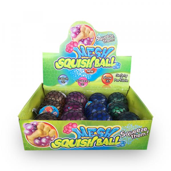 Squishy Mesh Ball Glitzer