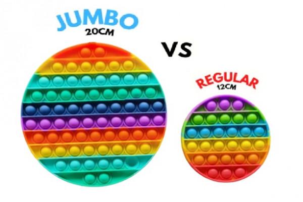 Jumbo Regenbogen fidgetgame